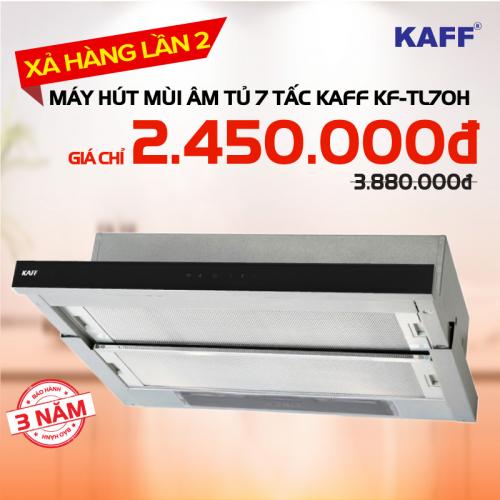 Máy hút mùi bếp âm tủ 7 tấc KAFF KF-TL70H