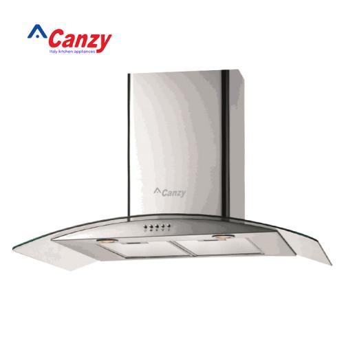 Máy hút mùi bếp kính cong 7 tấc CANZY CZ-70D2-2