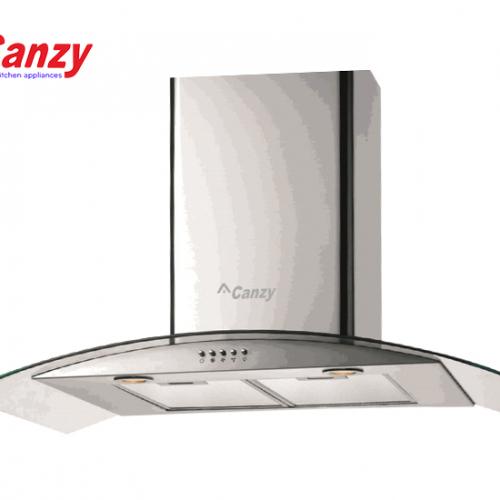 Máy hút mùi bếp kính cong 7 tấc CANZY CZ-70D2-1