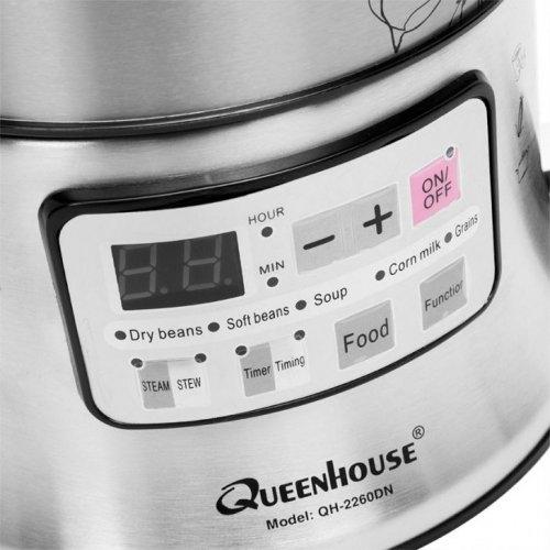 Máy làm sữa đậu nành Queenhouse QH-2260DN-1