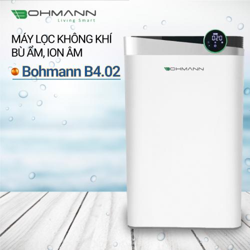 Máy lọc không khí bù ẩm, ion âm Bohmann B4.02-2