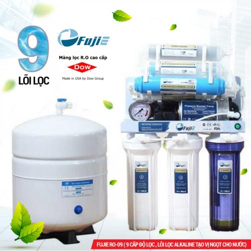 Máy lọc nước RO để gầm, không tủ FUJIE RO-09 (9 cấp lọc)-2