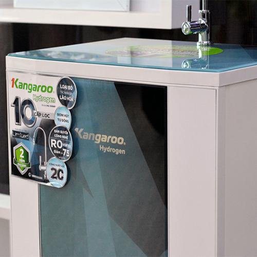 Máy lọc nước RO KANGAROO KG100HP VTU HYDROGEN (10 cấp lọc - Bao gồm tủ cường lực)-5