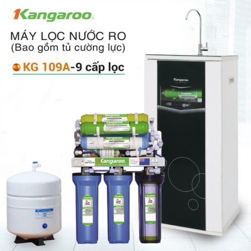 Máy lọc nước RO KANGAROO KG109A (9 cấp lọc - Bao gồm tủ cường lực)