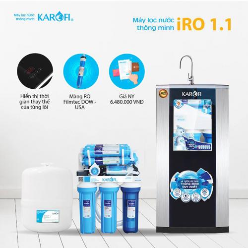 Máy lọc nước RO KAROFI iRO 1.1 K9I-1A (9 cấp lọc - Lõi ORP)-2