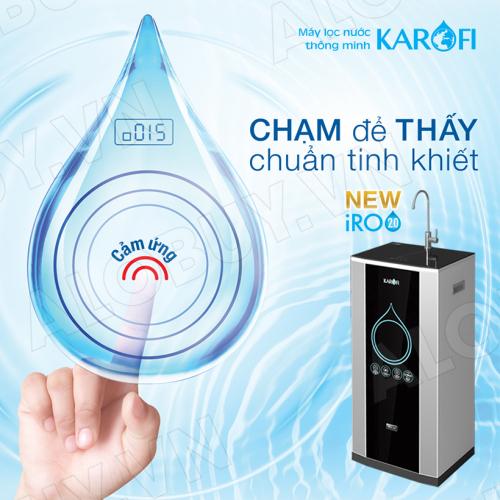 Máy lọc nước RO KAROFI iRO 2.0 K9IQ-2 (9 cấp lọc - Đèn UV diệt khuẩn)-2