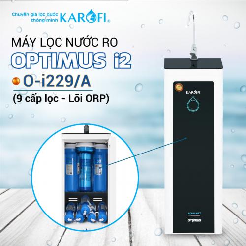 Máy lọc nước RO KAROFI OPTIMUS i2 O-i229/A (9 cấp lọc - Lõi ORP)