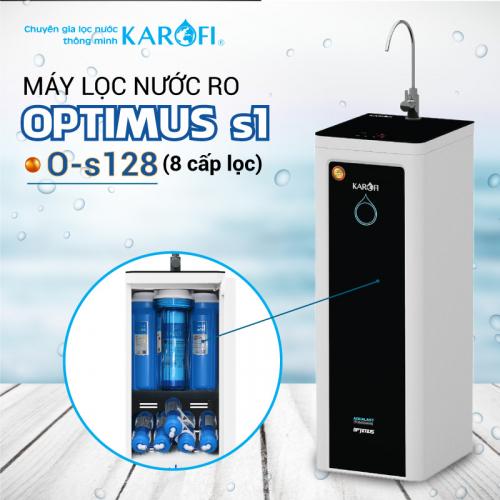 Máy lọc nước RO KAROFI OPTIMUS s1 O-s128 (8 cấp lọc)