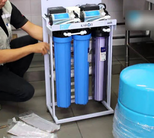 Máy lọc nước RO không tủ bán công nghiệp KAROFI KT-KB80 (6 cấp lọc)-5