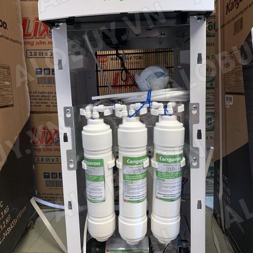 Máy lọc nước RO nóng lạnh 2 vòi KANGAROO KG61A3 (5 cấp lọc - Làm lạnh nhanh bằng Block)-6