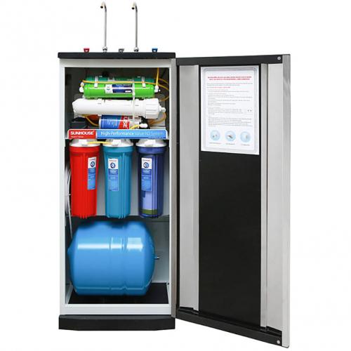 Máy lọc nước RO nóng lạnh 2 vòi SUNHOUSE SHR76210CK (10 cấp lọc - Bao gồm tủ cường lực)-5