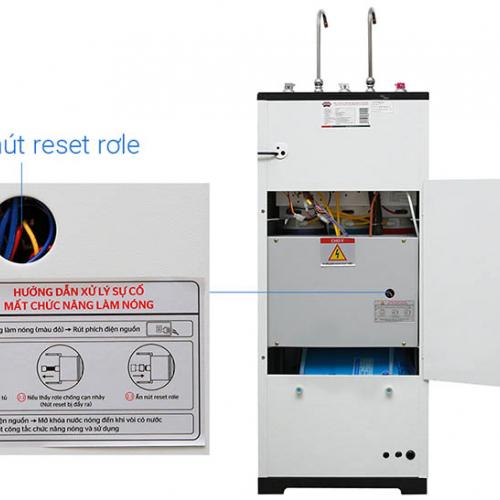 Máy lọc nước RO nóng lạnh 2 vòi SUNHOUSE SHR76210CK (10 cấp lọc - Bao gồm tủ cường lực)-3