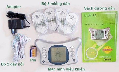 Máy massage trị liệu xung điện Olekin Doctor Care Vip 518-2