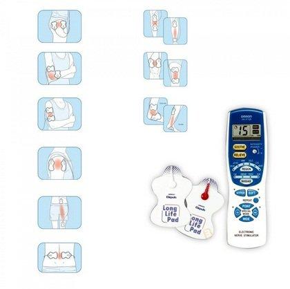 Máy massage trị liệu xung điện Omron HV-F128-3