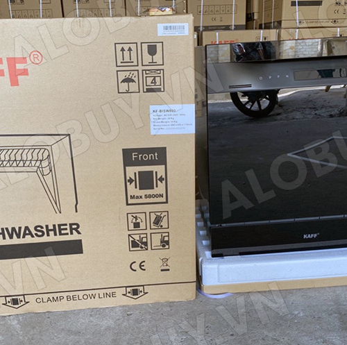 Máy rửa chén bát âm tủ KAFF KF-BISW800-2