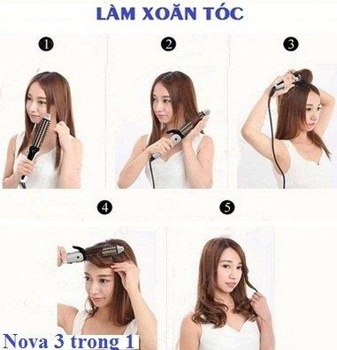 Máy tạo kiểu tóc đa năng Nova 3 trong 1-8