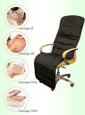 Nệm massage toàn thân Bella-1
