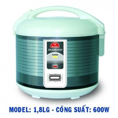 Nồi cơm điện Kim Cương 1.8LG-1