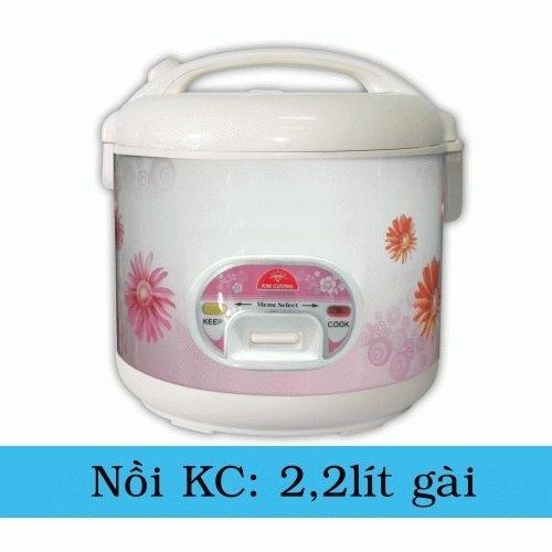 Nồi cơm điện Kim Cương 2.2LG-2