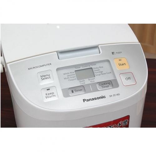 Nồi cơm điện Panasonic 1.8 lít SR-ZE185WRA-3