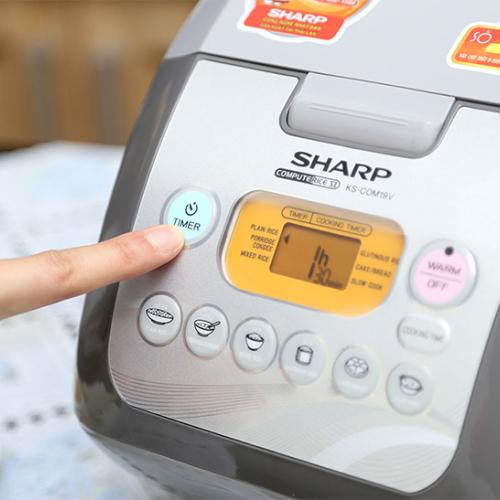 Nồi cơm điện tử Sharp KS-COM19V-2