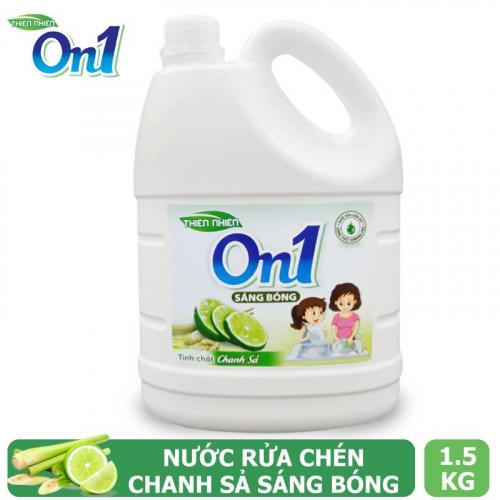 Nước rửa chén On1 hương chanh sả 1.5Kg - C4ON1