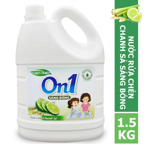Nước rửa chén On1 hương chanh sả 1.5Kg - C4ON1-2