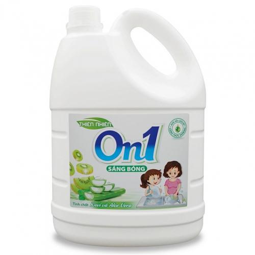 Nước rửa chén On1 hương kiwi và aloe vera 1.5Kg - N4ON1-1
