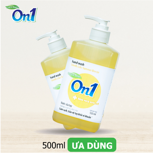 Nước Rửa Tay ON1 500ml Sạch Khuẩn Hương Chanh YUZU-3