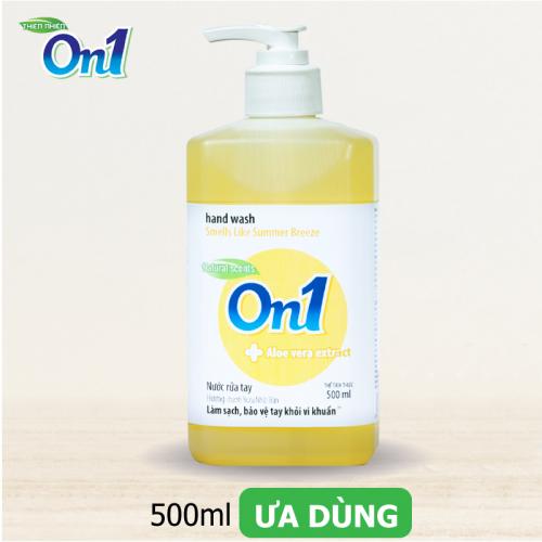 Nước Rửa Tay ON1 500ml Sạch Khuẩn Hương Chanh YUZU-2