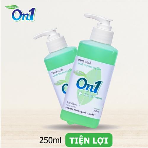 Nước rửa tay sạch khuẩn On1 250ml hương White Tea - RT253-3