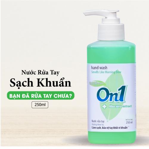 Nước rửa tay sạch khuẩn On1 250ml hương White Tea - RT253-2