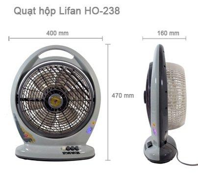 Quạt hộp Lifan HO-238-3