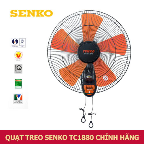 Quạt treo tường Senko 2 dây TC1880-1
