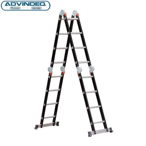 Thang nhôm gấp gọn đa năng 4 đoạn Advindeq ADM104-8
