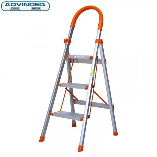 Thang nhôm ghế 3 bậc xếp gọn Advindeq ADS703-4