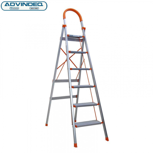 Thang nhôm ghế 6 bậc xếp gọn Advindeq ADS706