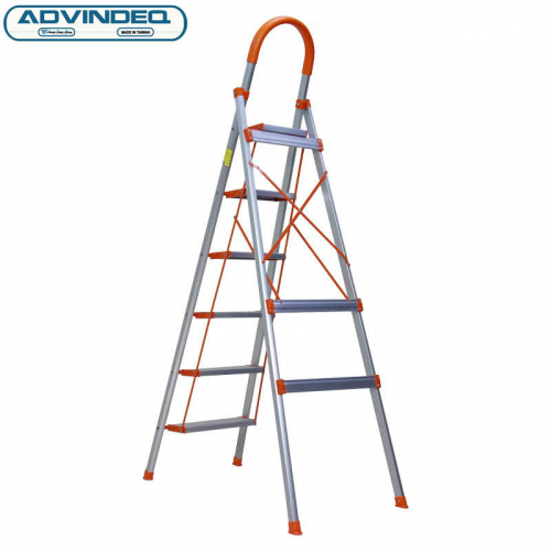 Thang nhôm ghế 6 bậc xếp gọn Advindeq ADS706-8