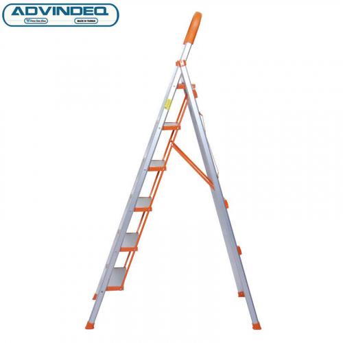 Thang nhôm ghế 6 bậc xếp gọn Advindeq ADS706-3