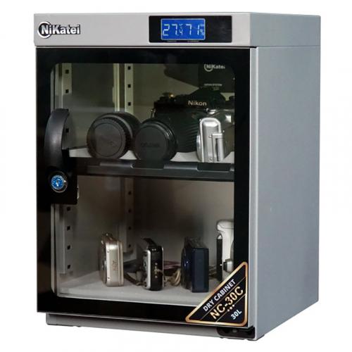 Tủ chống ẩm Nikatei NC-30C SLIVER PLUS (30 Lít)-5