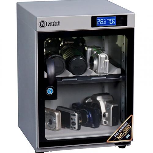 Tủ chống ẩm Nikatei NC-30C SLIVER PLUS (30 Lít)-4