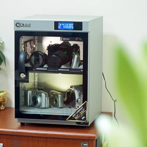 Tủ chống ẩm Nikatei NC-30C SLIVER PLUS (30 Lít)-2