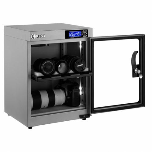 Tủ chống ẩm Nikatei NC-30S SLIVER PLUS (30 Lít)-3