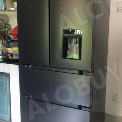 Tủ lạnh Side by Side KAFF KF-BCD523W (2 cánh mở trên, 2 ngăn rút dưới)-2
