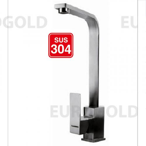 Vòi rửa bát inox 304 Eurogold EUF014M