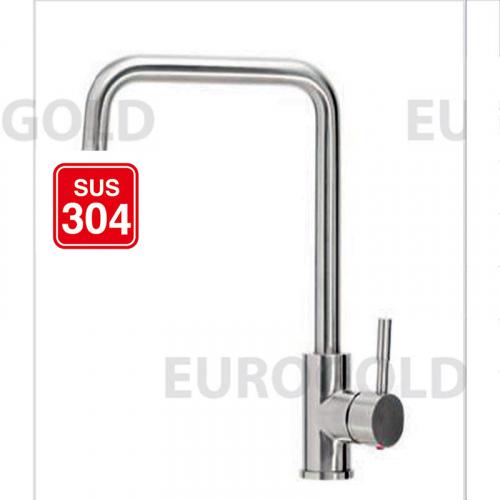 Vòi rửa bát inox 304 Eurogold EUF015M