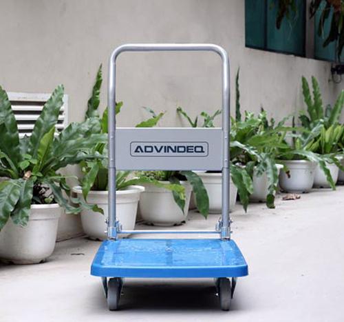 Xe đẩy hàng 4 bánh sàn nhựa ADVINDEQ PT-150-5