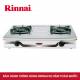 Bếp gas 7 tấc Rinnai RV-370SM(N), Chén gang đúc-1