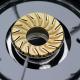 Bếp gas 7 tấc Rinnai RV-3715GL(FM), Chén đồng mặt kính-2
