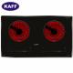 Bếp hồng ngoại đôi cảm ứng KAFF KF-FL101CC-1
